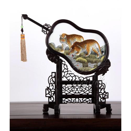 虎豹异绣-豹子