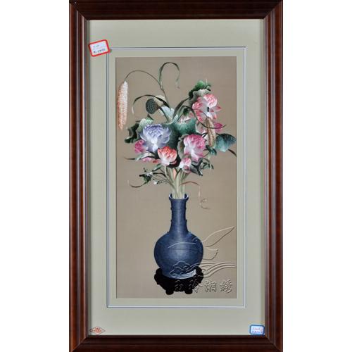 穗穗花瓶荷花